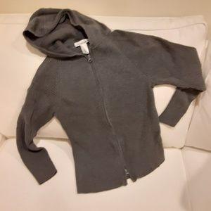 Jones New York Sport hooded Zipper up shirt/jacket
